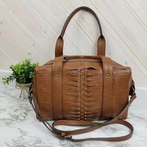Nanette Lepore   Faux Leather Lattice Bag